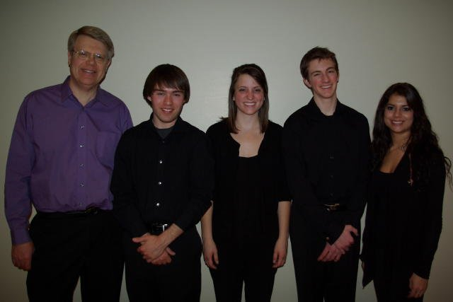 Co-winner Collegiate College of Idaho Quartet