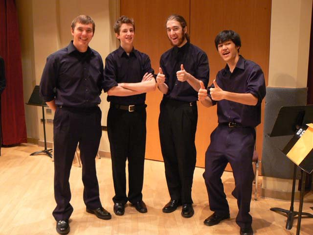Timberline High School Quartet